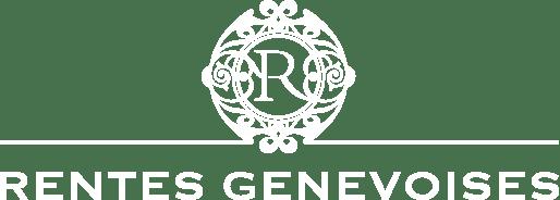 Logo Rentes Genevoises Blanc