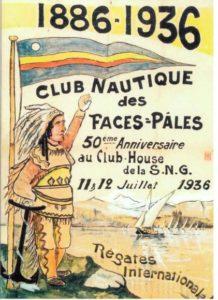 Affiche Club Nautique des Faces Pâles